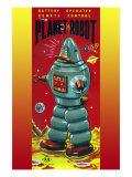 Planet Robot Print