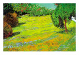 Sunny Lawn Prints by Vincent van Gogh