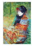 Profile of Lydia Affiches par Mary Cassatt