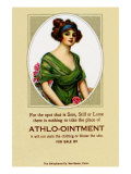 Athlo - Ointment For Croup, Cold Or Sore Throat Posters