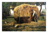 Barnyard Prints by Childe Hassam