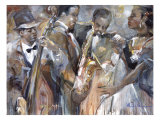 All About Jazz II Giclee Print by  Marysia