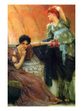 Unconscious Rivals Photo by Sir Lawrence Alma-Tadema