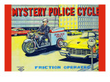 Mystery Police Cycle Poster