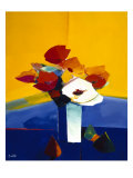 Autumn Blooms 3 Giclee Print by  Monestier