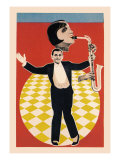The Sax Jazz Dance Posters