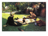 In The Sun Prints by James Tissot