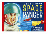 Lone Star Space Ranger 100 Shot Cap Repeater Prints