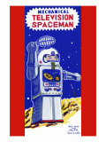 Mechanical Television Spaceman Art