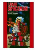 Lunar Spaceman Poster