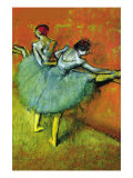 Ballet Dancers Print by Edgar Degas