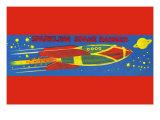 Sparkling Space Ranger Print