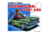 International Agent Car Prints