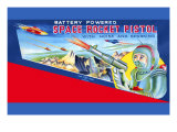 Space Rocket Pistol Posters
