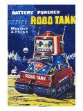 Mini-Robo Tank Posters