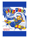 Rollover Plane Posters