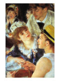 Lunch On The Boat Party, Detail Prints by Pierre-Auguste Renoir