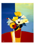 Autumn Blooms 1 Giclee Print by  Monestier