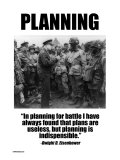 Planning Poster por Wilbur Pierce