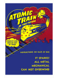 Atomic Train of The Future Poster