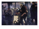 The Prodigal Son In Modern Life - The Return Print by James Tissot