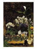 Mixed Spring Flowers Poster von Pierre-Auguste Renoir