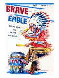 Brave Eagle Art