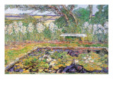A Garden On Long Island Prints by Childe Hassam