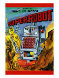 Super Robot Poster