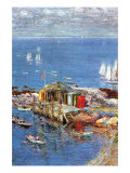 Afternoon In August Posters by Childe Hassam