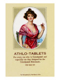 Athlo - Ointment For Croup, Cold Or Sore Throat Print