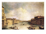 Grand Canal Prints by  Canaletto