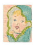Baby Girl Prints by Norma Kramer
