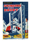Swinging Baby Robot Prints