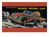 Space Patrol Car Print