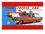 Space Patrol Car Art