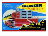 Battery Operated Bulldozer with Horn and Light Posters