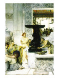 The Sculpture Gallery Poster by Sir Lawrence Alma-Tadema
