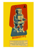Robot ST1 Posters