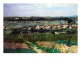 The Village Prints by Berthe Morisot