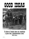 Good Ideas Posters by Wilbur Pierce
