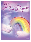 Love and Prayers Giclee Print by Flavia Weedn