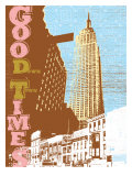Good Times Down Town Giclee Print by Bessie Pease Gutmann