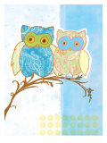 Owl Love Prints by Bessie Pease Gutmann