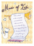 Music of Life Giclee Print by Flavia Weedn