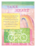 Take Heart Posters by Flavia Weedn