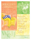 Healing Thoughts Posters by Flavia Weedn