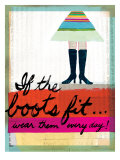 If the Boots Fit Giclee Print