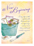 Promise of New Beginnings Poster by Flavia Weedn