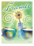 The Warmth of Friendship Poster von Flavia Weedn